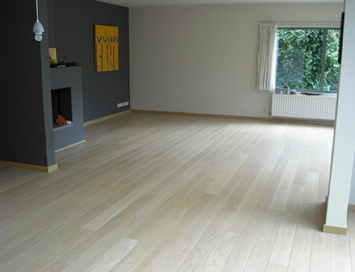 Renovation parquet at Tervuren