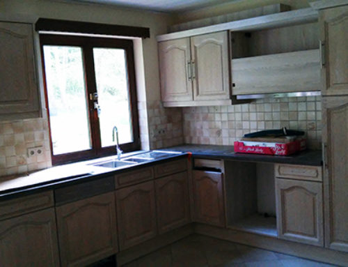 Kitchen renovation at Louvain-la-Neuve